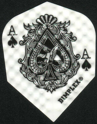 Ace of Spades Dimplex Dart Flights: 3 per set