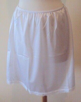 velrose lingerie nylon essentials 19 inch plus size half slips style 2719