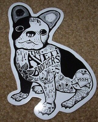 "THE AVETT BROTHERS Bros Decal 5"" Sticker DOG tour cd lp album art"