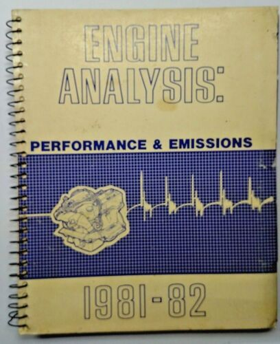 Nissan Datsun Technical Engine Analysis OEM Factory Service Guide 280Z 1981-1982