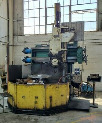 Webster Bennett 60 Vertical Borer Vtl Lathe W Tracer - Bullard King Betts Om