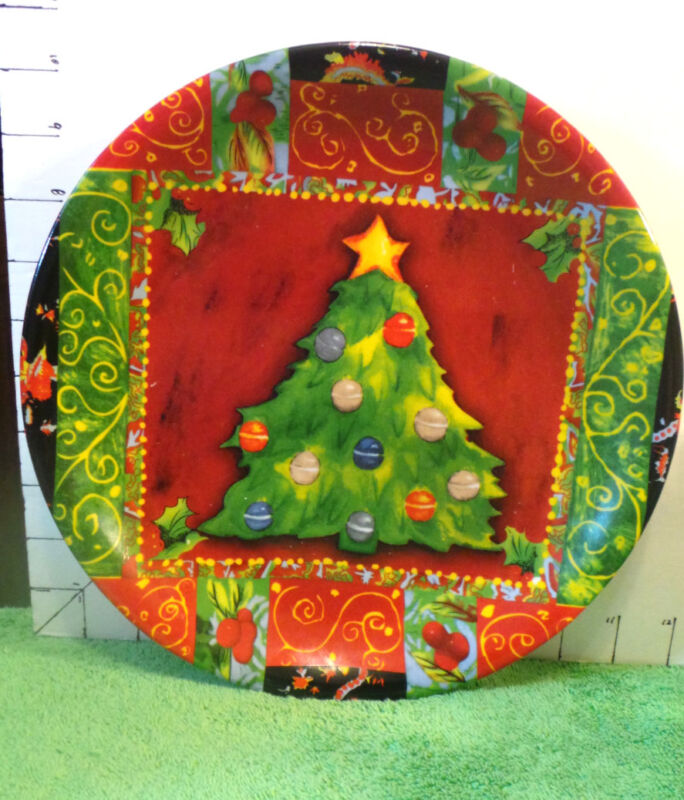 Christmas Platter, Red & Green,Far East Brokers & Consultants Inc,Holiday Decor
