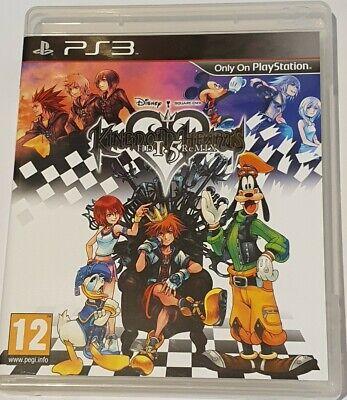 Kingdom Hearts HD 1.5 ReMIX - PS3 UK GAME VGC *FREE UK POST*