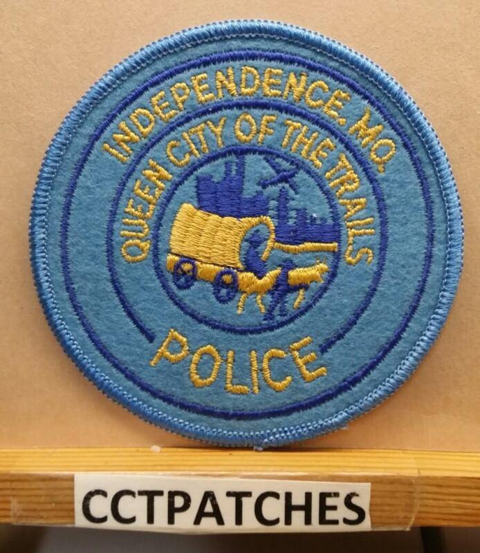 VINTAGE INDEPENDENCE, MISSOURI POLICE FELT SHOULDER PATCH MO