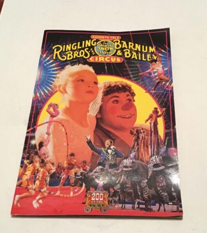 Ringling Brothers And Barnum & Bailey Circus Magazine & Program 1993