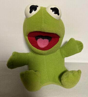 Vintage 1987 Baby Kermit Plush Toy Collectible Jim Henson Associates