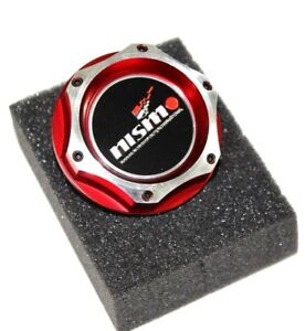 FOR NISSAN NISMO JDM RED BILLET ENGINE OIL CAP GTR 350z SILVIA 370z 240SX
