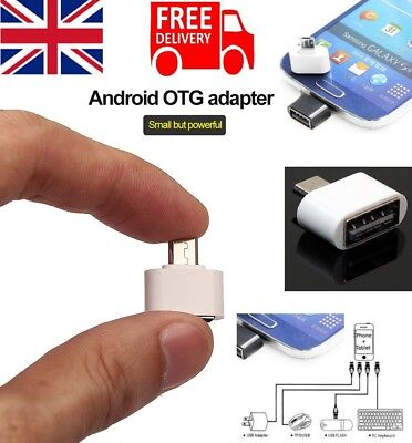 Micro USB Host Male to USB Female OTG Adapter For Android Tablet PC & Phones