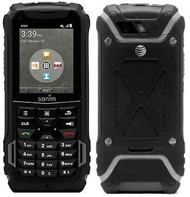 Sonim XP5 XP5700 - 4G LTE - Military Grade Rugged (GSM Unlocked) PTT Phone -