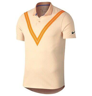 503d883b NIKE Dri-Fit Court Roger Federer Advantage Polo Slim Fit Men's sz L Large