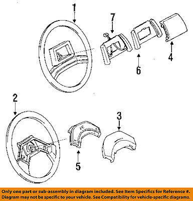 Chevrolet GM OEM 88-90 Beretta-Horn Switch 17985232