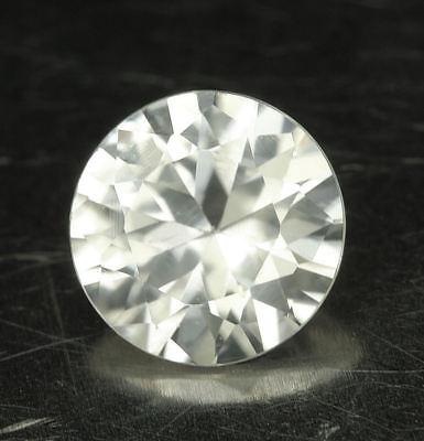 weisser    ZIRKON / ZIRCON    Diamantschliff     ca. 1,5 ct