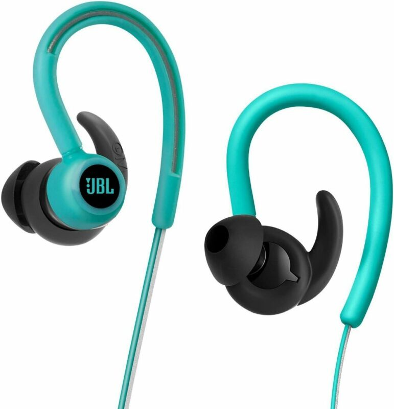 JBL Reflect Contour Wireless In-Ear Headphones Teal JBLREFCONTOURTEL
