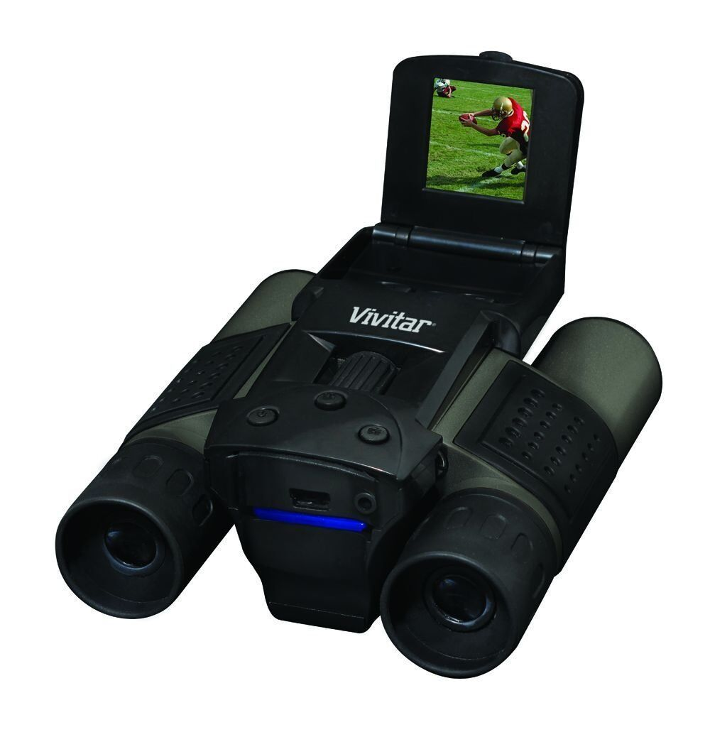Vivitar Digital Binocular Camera 8mp Usb Lcd- Colors May ...