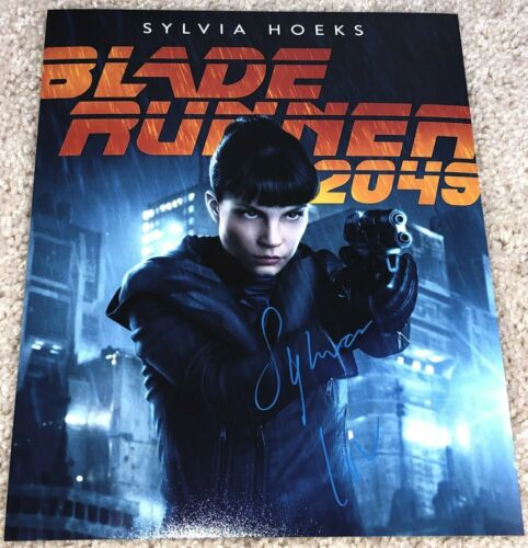 SYLVIA HOEKS SIGNED AUTOGRAPH BLADE RUNNER 2049 LUV 8x10 PHOTO D w/EXACT PROOF