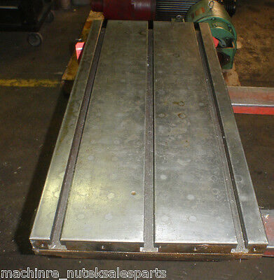 35.25 X 16 X 5 Steel Weld T-slotted Table Cast Iron Layout Plate Jig 3 Slot