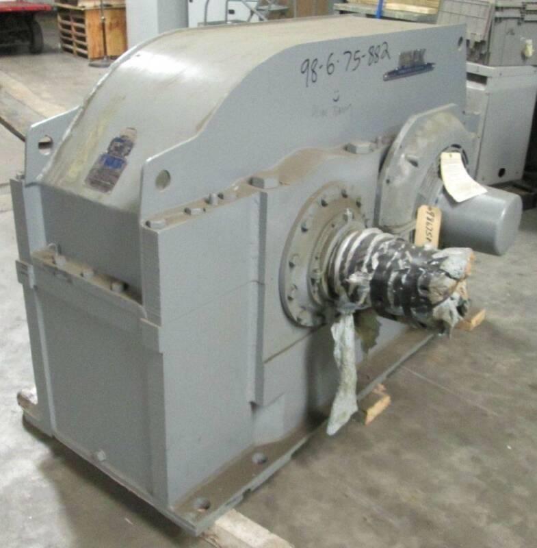 REBLT Falk 1150YF1-LS 1500 HP 2.423 Ratio 2.48 SF 850/349.5 RPM Out Gear Reducer