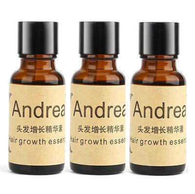 3Pcs Andrea Hair Growth Essence Serum Hair Loss Treatments Oil Genseng US Seller