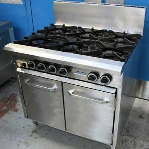 COMMERCIAL COOK TOP. Oven/6 Burner Range LUUS Brand Irymple Mildura City Preview