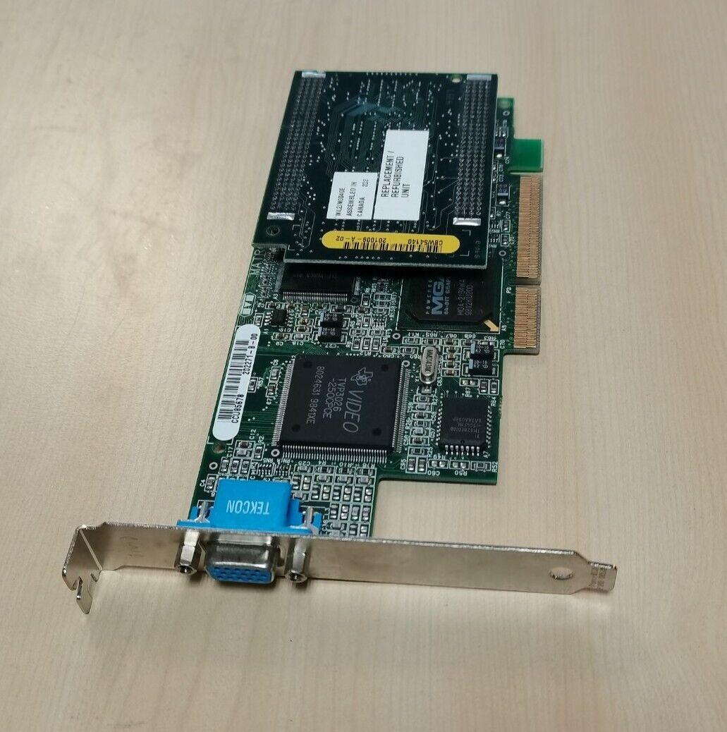 Matrox Millenium II AGP 8MB Grafikkarte VGA AGP MIL2A/4/OEM + MIL2/MOD40E Karte