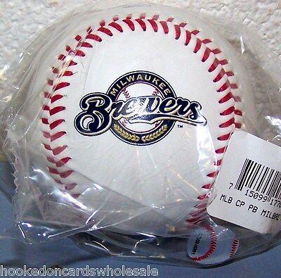 1 Milwaukee Brewers Team Logo Ball MLB Baseball Rawlings](Milwaukee Brewers Baseball)