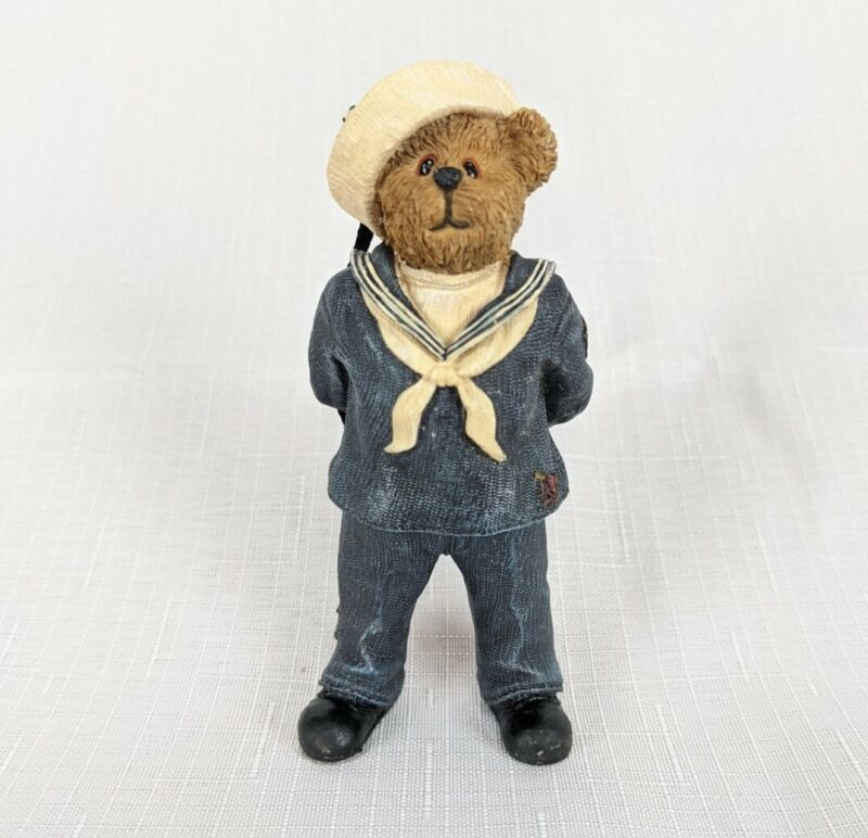 The Boyds Bear Collection Christmas Ornament Style # 257117 BB Navy Ornament New