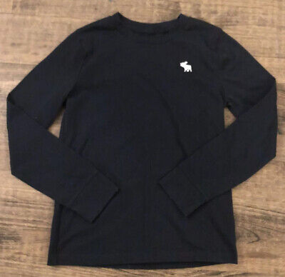 Abercrombie & Fitch KIDS BOY Size 9-10 Long Sleeve Shirt Top-Soft-WORN ONCE-NICE