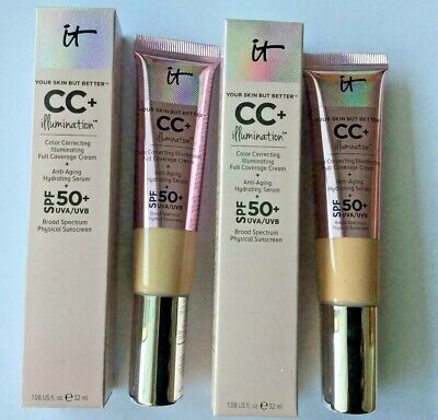 IT Cosmetics Your Skin But Better! CC+ Illumination Color Correcting With SPF-50