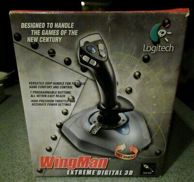 Gaming joystick controller WINGMAN Extreme Win & Mac