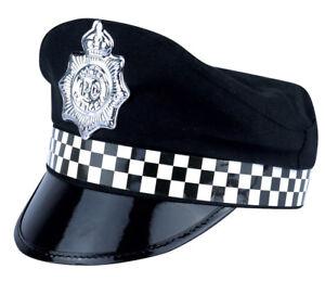 74d31bd8da637 ADULT POLICE MAN CAP HAT FANCY DRESS NO 1 COP POLICE COSTUME ACCESSORY