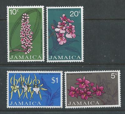 Jamaica - 1973 Orchids - Un-mounted Mint set