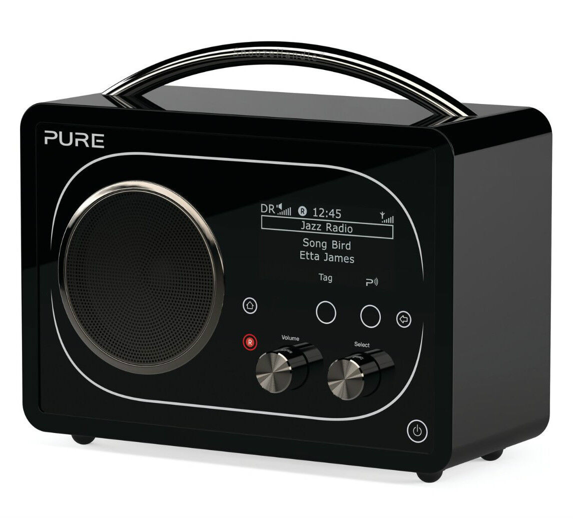 pure evoke f4 tragbar dab internet radio mit bluetooth ebay. Black Bedroom Furniture Sets. Home Design Ideas