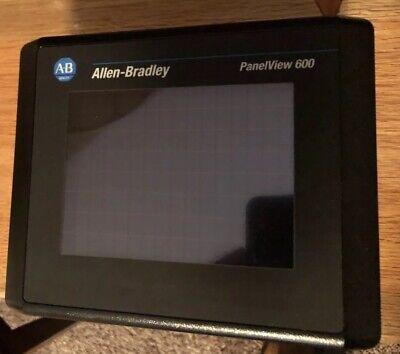 Allen Bradley 2711-t6c15l1x Panelview 600 Touch Screen Frn 4.46 Ser.b