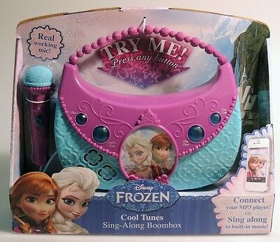 Esm692  Disney Frozen  Cool Tunes Sing Along Boombox With Built In Music  2014
