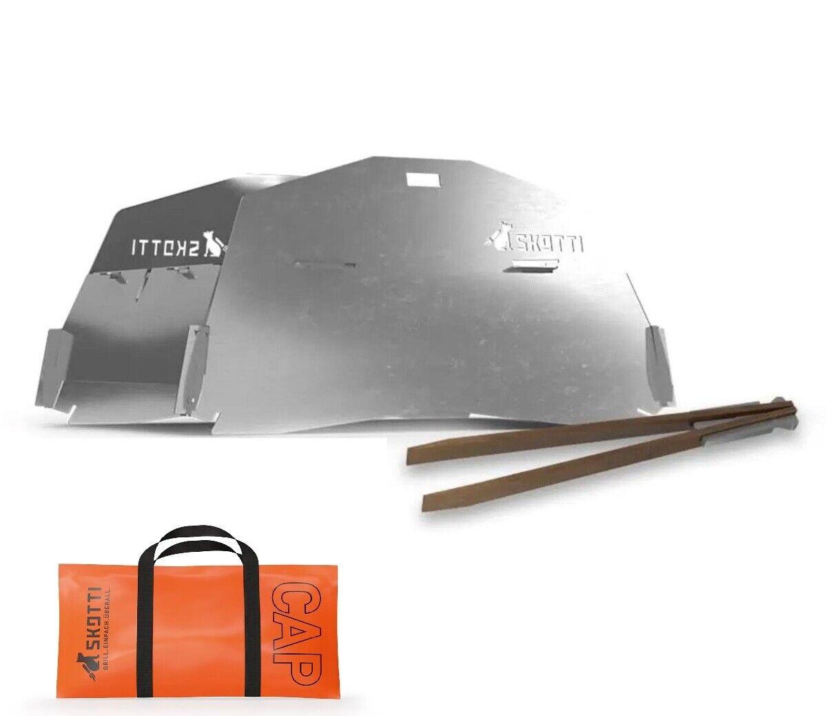 Skotti-CAP inkl.Transporttasche,für SKOTTI Gasgrill,Tischgrill,Campinggrill