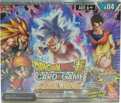 DRAGON BALL SUPER TCG COLOSSAL WARFARE BOOSTER BOX SEALED Booster Box Dragon Ball