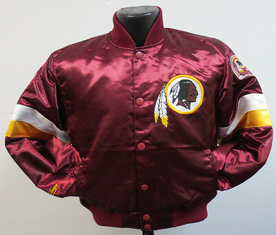 Washington Redskins Prime Satin Youth Jacket Nfl Football Coat Kids Nfl Pro Shop