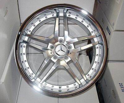 "20"" Euromag EM2 Wheels for Mercedes Benz E S CL 350 400 500 550 4 Rims"