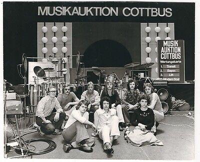 Ü412 FOTO MUSIKAUKTION COTTBUS großformat STADTHALLE COTTBUS 13.09.1976