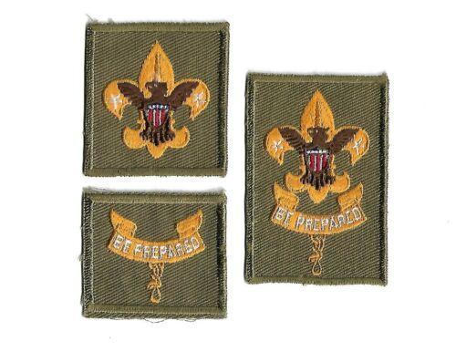 BSA Tenderfoot Second Class & First Class  Insignia Rank Badges 1955-1964 Lot