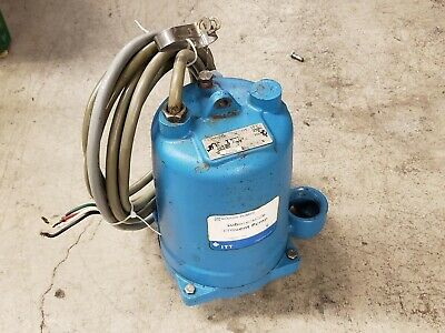 Goulds We0534h 12 Hp Submersible Pump