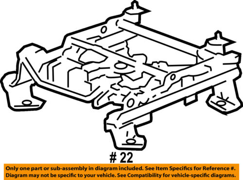 gm oem front seat seat track 22804418 ebay 1941 Ford Rear End seller payment information