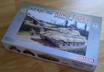 DRAGON 7231 Sd.Kfz.182 KING TIGER Porsche Turret 1:72 Model Kit