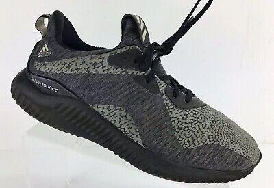 b0b757c8e5939 Mens Adidas Alphabounce HPC AMS M DA9561 Black Grey Size US 8 Athletic Shoes