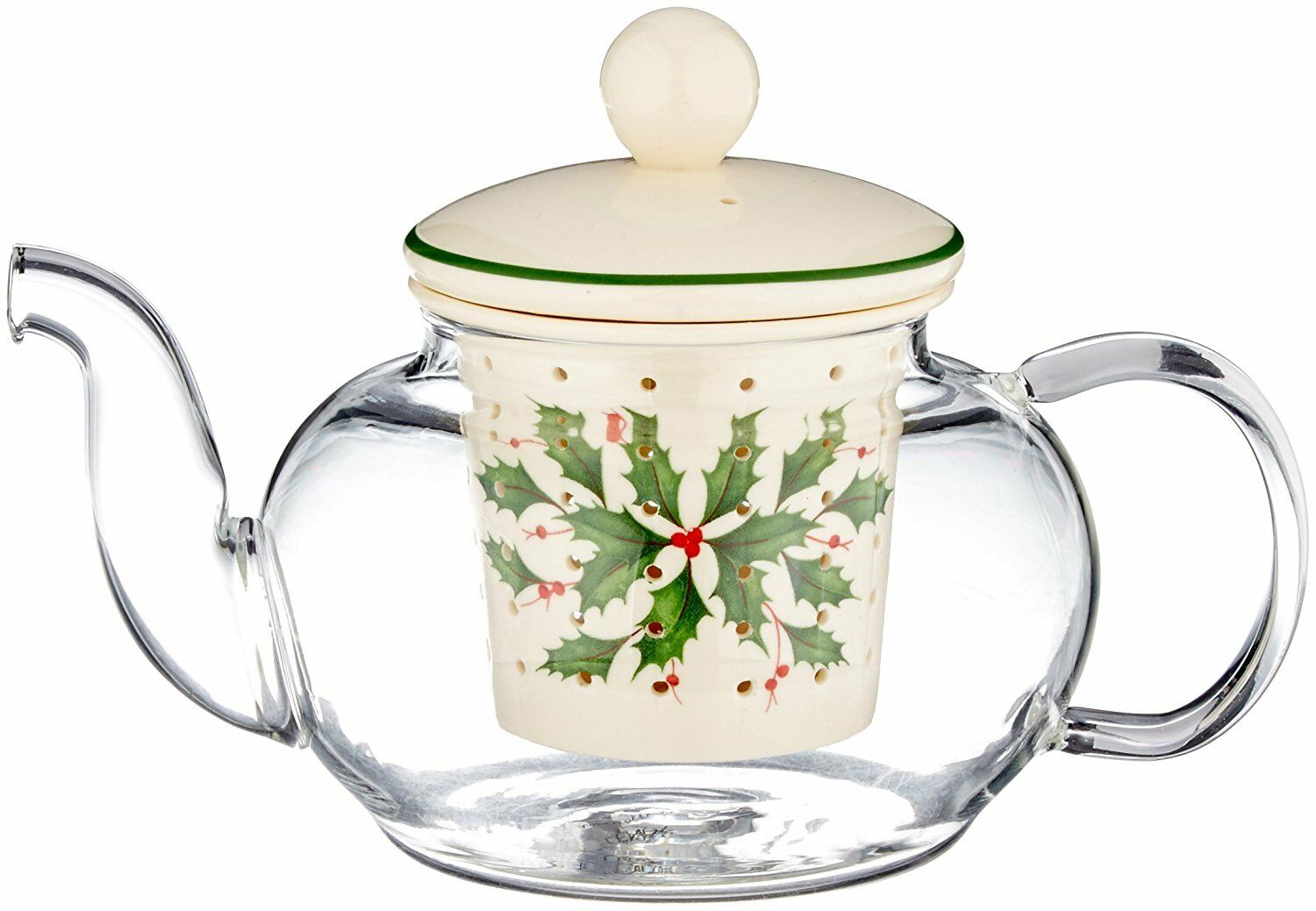Купить Lenox - Lenox HOLIDAY TEA FOR ONE Teapot with Infuser Set NEW IN BOX Christmas