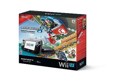 Nintendo Wii U 32GB Consola - Mario Kart 8 de Lujo Juego...