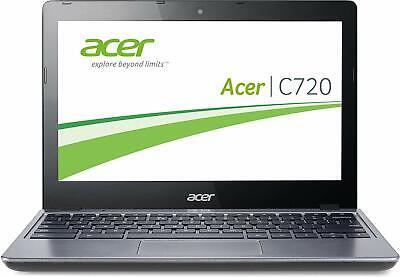 """REFURBISHED 11.6"""" ACER CHROMEBOOK C720 WITH CHROME OS WEBCAM HDMI - C GRADE"""