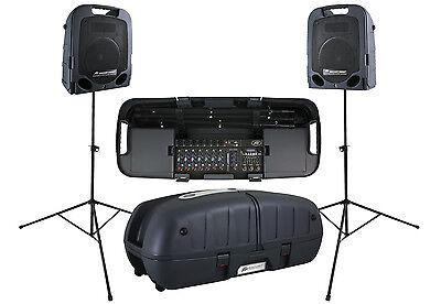 Peavey Escort 5000 Two-way DJ Audio PA Portable Speaker Syst