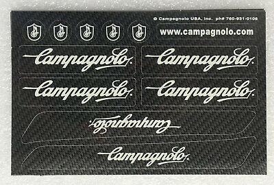 1 Pair Campagnolo Top Tube Decals Mirror Gold sku Camp202