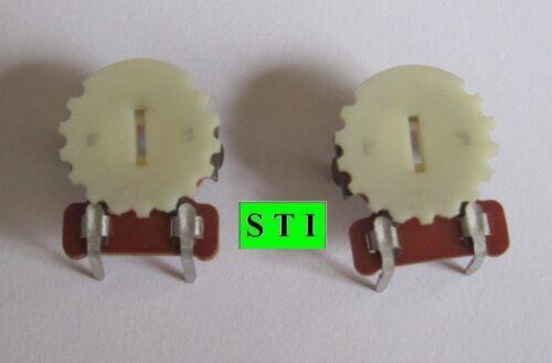 2 pcs  0-500 Ohm CTS Trim Pot Linear Potentiometer Variable Resistor